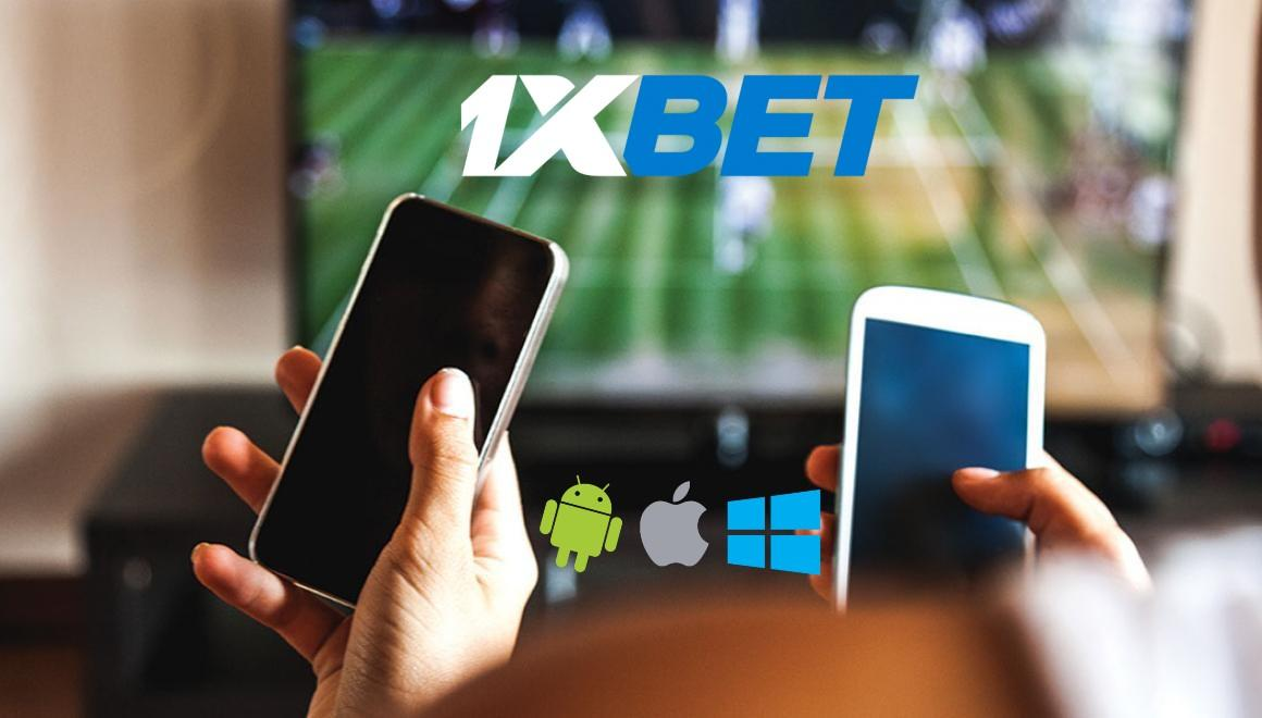 1xBet telecharger une application mobile