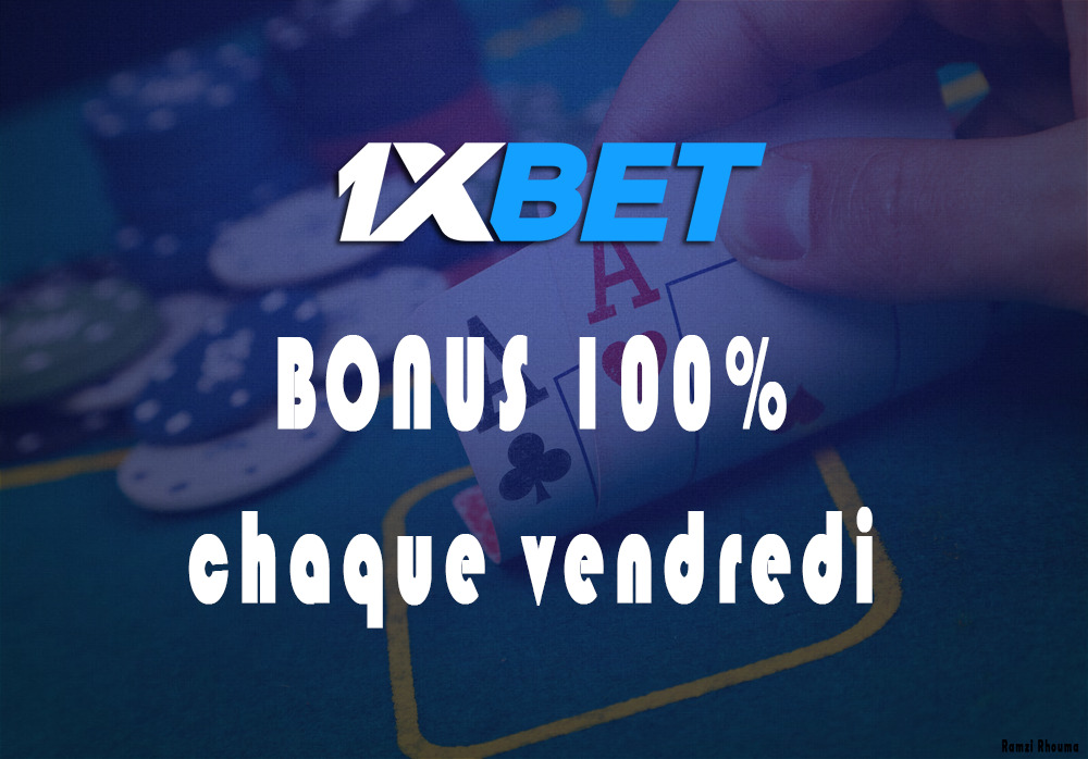 1xBet Bonus paris sportif Lucky Friday