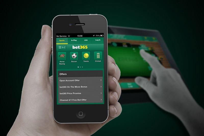 version mobile du site web Bet365