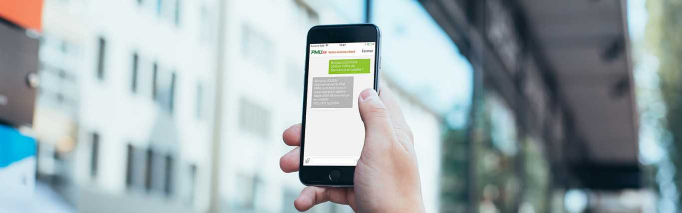 site appli PMU Android