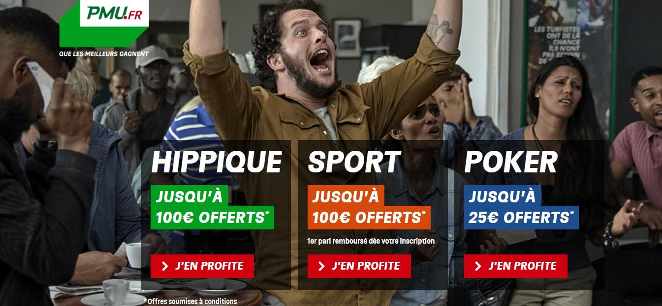 PMU Paris sportifs en direct