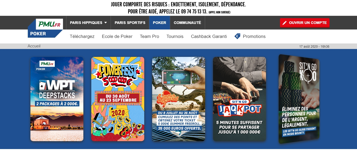 PMU casino online