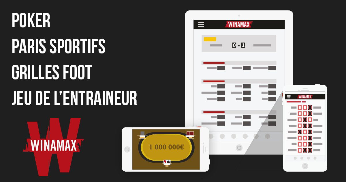 Winamax application et le poker en ligne
