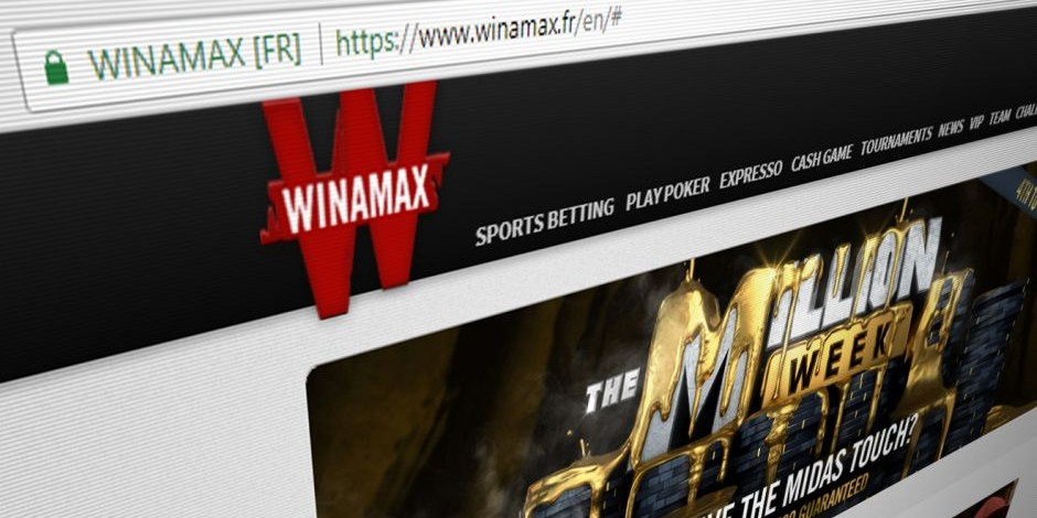 Winamax application