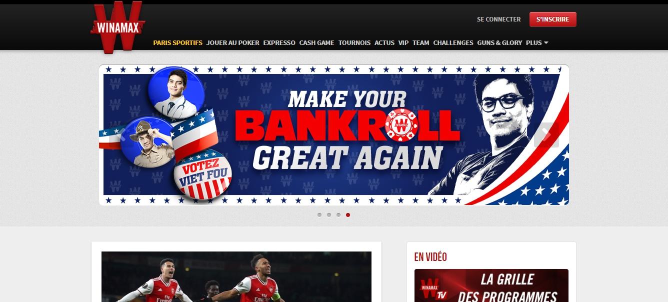 site web de Winamax